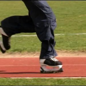 ice skates long jump