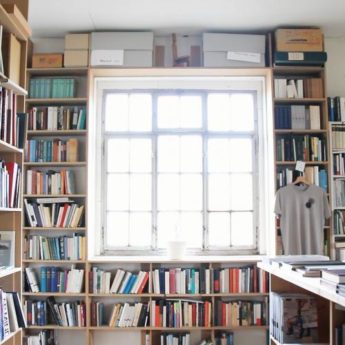 Library of Josef Felix Müller's atelier
