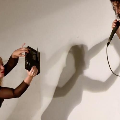 Unperceivable sound, voice & gesture /// Marta Zapparoli /// Alessandra Eramo